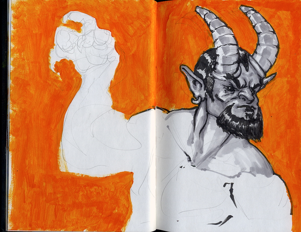 Sublimus' Sketchbook [2016]